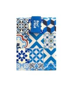 boc n roll blue patchwork tiles