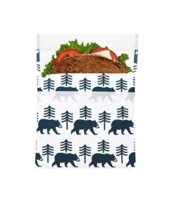 lunchskin sandwich bag bear
