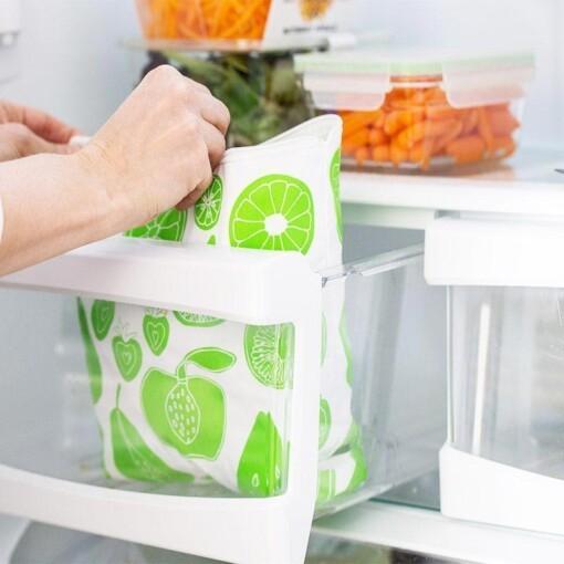 lunchskins vriezerzak groen