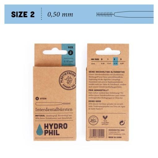 hydrophil interdentale ragers maat 2