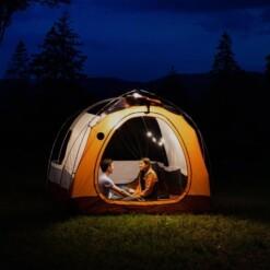 lichtsnoer camping solar