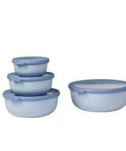 mepal nordic blue set van 4