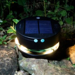 solarlampjes camping