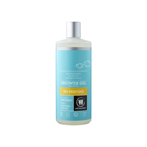 urtekram showergel zonder parfum 500 ml