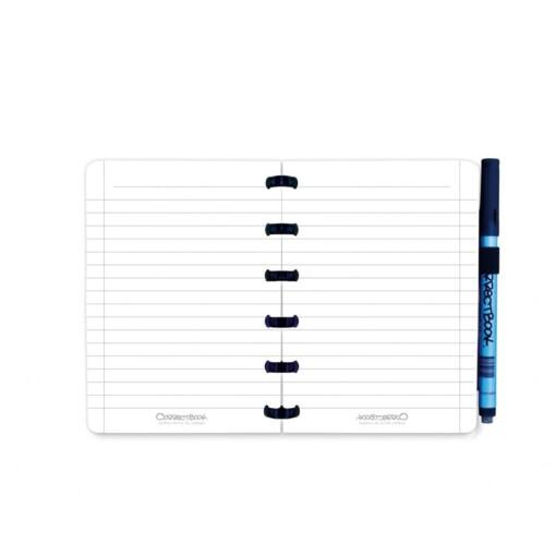 correctbook a6 blauw wisbaar notitieboek