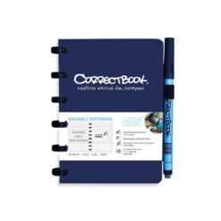 correctbook A6 blauw herbruikbaar notitieboek