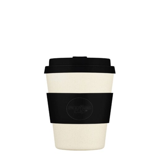 ecoffee cup small solid black nature