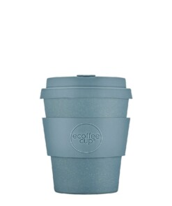 ecoffee cup small solid gray goo