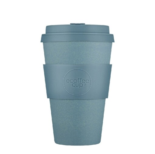 ecoffee cup large 400ml solid gray goo