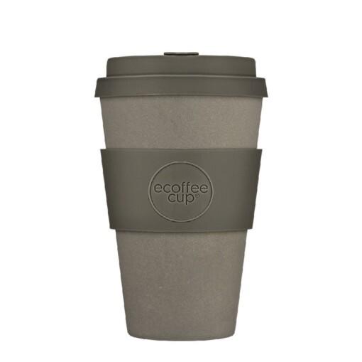 ecoffee cup large 400ml solid motlo grigio