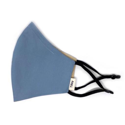 herbruikbaar mondkapje blauw