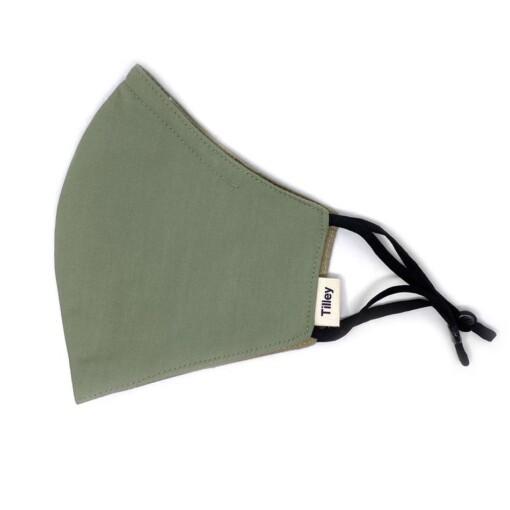 tilley mondkapje groen