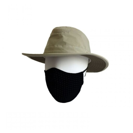 Tilley gezichtsmasker zwart