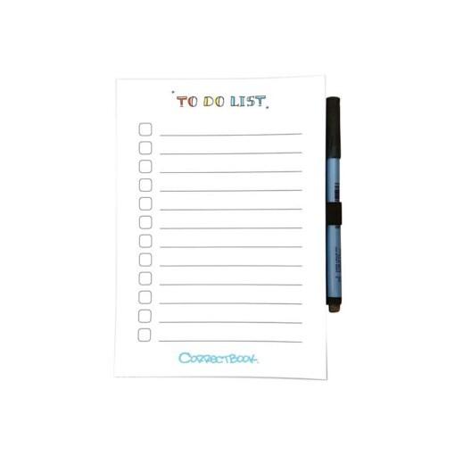 Correctbook To Do List schrift