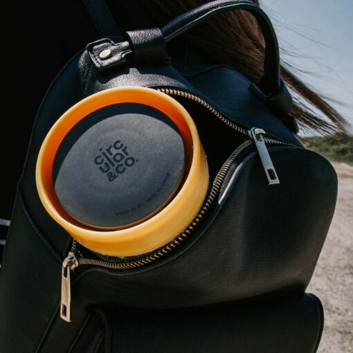 circular cup backpack