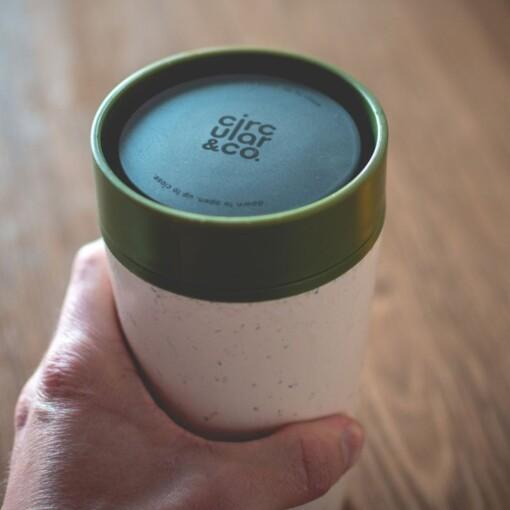 circular cup 340 ml coffee cup