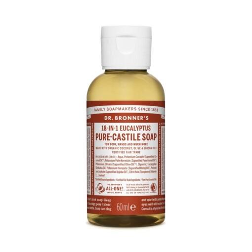 eucalyptus dr bronner pure castile zeep