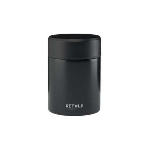 retulp food thermos food container zwart