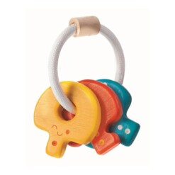 houten sleutel rammelaar