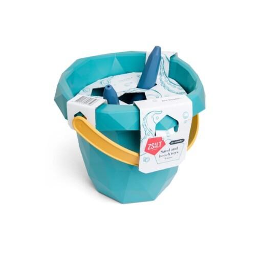zsilt duurzaam speelgoed set schep zeef boot