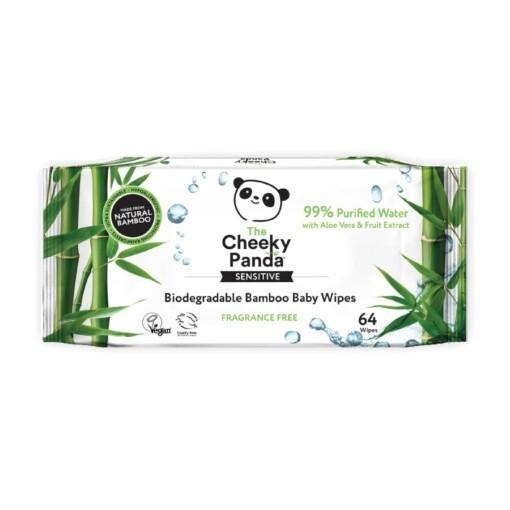 cheeky panda bamboe baby doekjes
