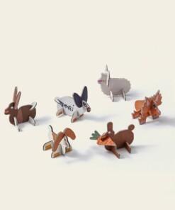 play in choc rabbits