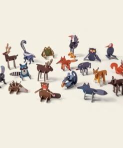 play in choc woodland animals