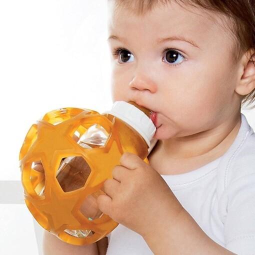 hevea glazen zuigfles met bal
