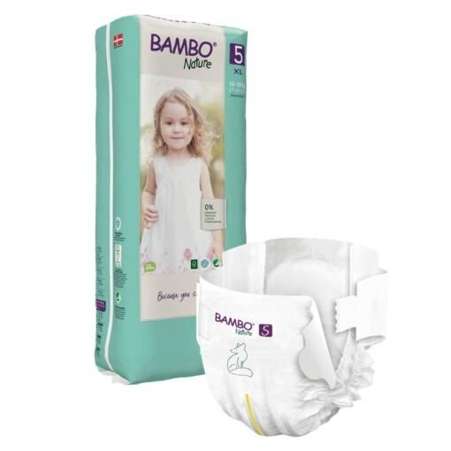 Bambo luiers 5 voordeelpak