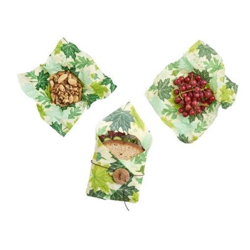 beeswrap lunchpack forest floor