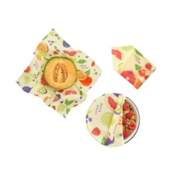 bee's wraps assorted 3 pack fresh fruit