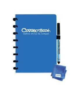 correctbook gelijnd a5 blauw