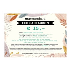 sustainable webshop gift card 15