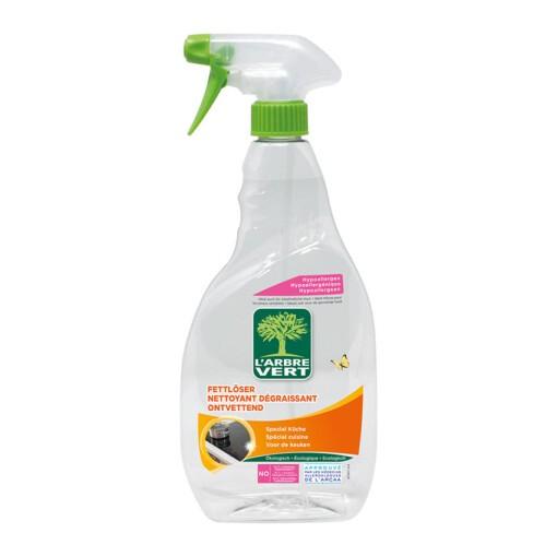ontvetter keukenreiniger spray l'arbre vert