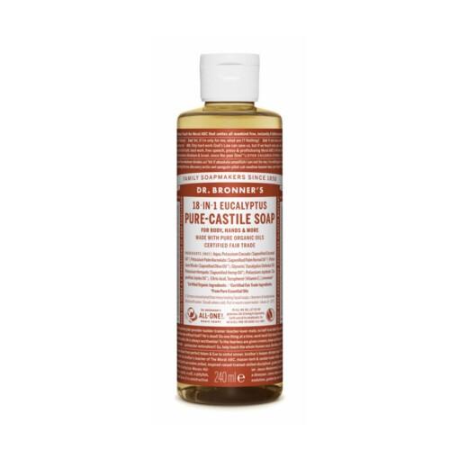 dr bronner castille 240ml ecualyptus