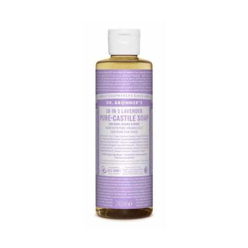 dr bronner castille 240ml lavendel