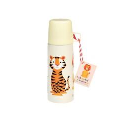 kleine thermosfles tijger leeuw
