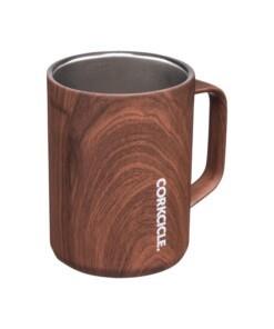 corkcicle thermosmok walnut wood