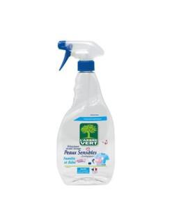 ontvlekker spray gevoleige huid arbre vert