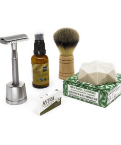 duurzame scheerset / shaving kit