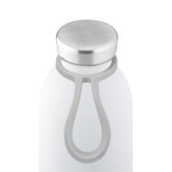 24Bottles Bottle Tie Draagring grijs