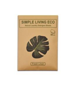 simple living eco detergent sheets linen