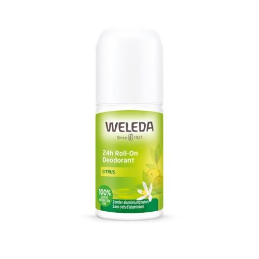 weleda 24h roll-on deodorant citrus