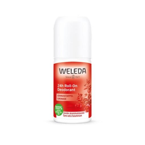weleda 24h roll-on deodorant granaatappel
