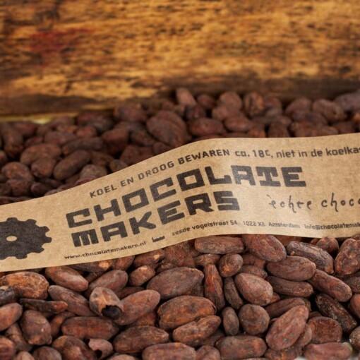 de chocolatemakers cacaobonen