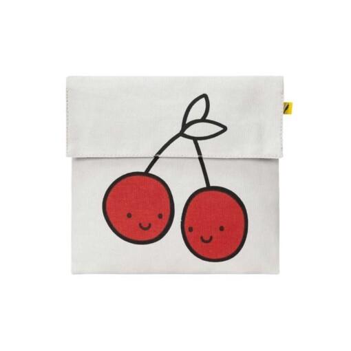 fluf flip snack sack cherry