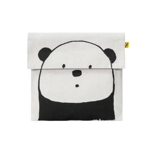 fluf flip snack sack panda