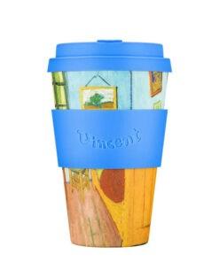 the bedroom van gogh ecoffee cup