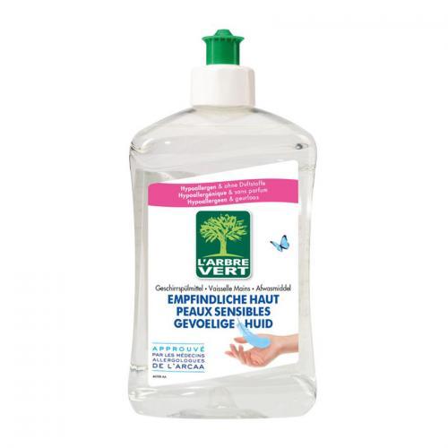 afwasmiddel gevoelige huid