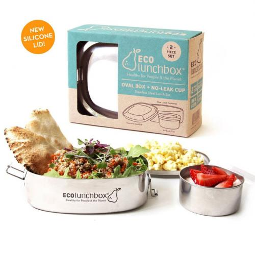 ecolunchbox oval box en cup